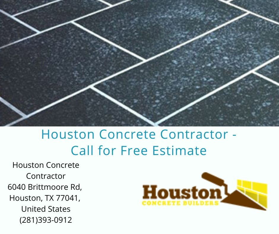 Houston Concrete Contractor - Call for Free Estimate